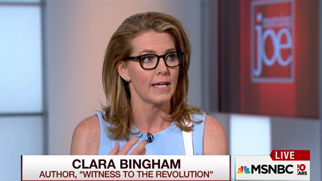 Clara Bingham on Morning Joe